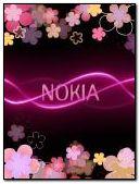 粉红色的诺基亚花