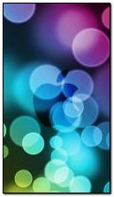 Glow Apple Bokeh
