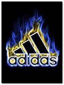 adidas flames
