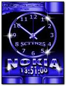 Nokia Clock Animated
