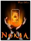 nokia in fire