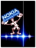 duvar kağıdı bergerak-Nokia