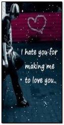 Senden nefret ediyorum