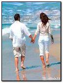 Marcher au bord de la mer