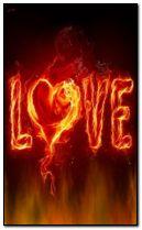 cinta dengan api