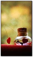 cuore animato e chiave