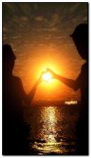люблю захід сонця