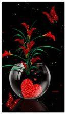 bunga dan jantung