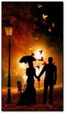 осенью вечером вместе