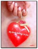 Trái tim tôi thuộc về bạn!