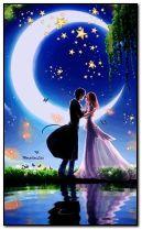 Cinta di bawah sinar bulan