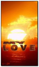 animated sunset my love HDi41