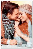 Romantic snowfall