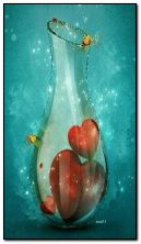 Hearts in the bottle