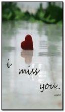 ich vermisse dich .?