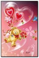 Ours d'amour mignon