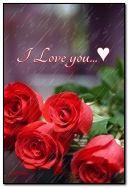 मी तुझ्यावर प्रेम करतो