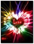 Corazon de neon love