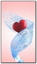 Splash heart