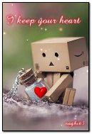 I keep your heart