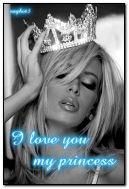 Tôi yêu bạn công chúa của tôi!