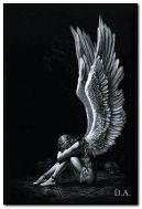 üzgün melek