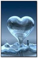 water heart
