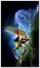Surfeur de nuit