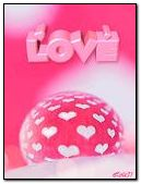 Pink hearts and love
