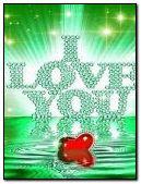 Bling diamond heart love