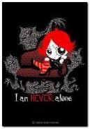 I am never alone