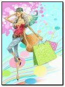 ショッピング女性2