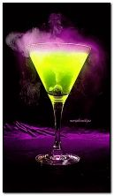 Glowing drink