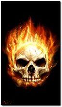 Вогняний череп