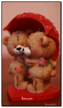 teddy bear and heart