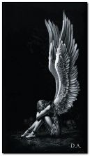malaikat sedih