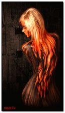 cabelo de fogo
