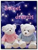 Sweet dreams Teddy Bears