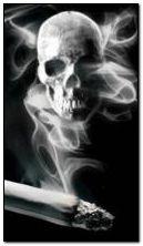 fumée de crâne