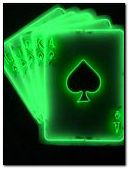 Glowing cards