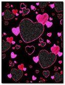 Đen hoạt hình trái tim