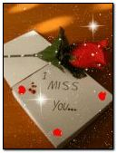 miss u rose and note