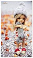 Süße Puppe