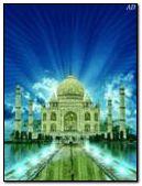 charming Taj Mahal