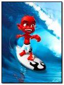 Evil surfer