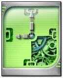 clock work green 176x220