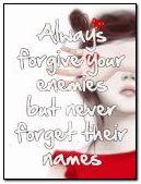 हमेशा माफ़ करो