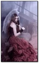 girl in storm
