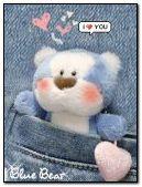 Голубой медведь любви