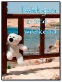 Ich wünsche Ihnen ein schönes Wochenende